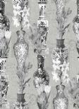 Kyoto Imari Grey Silver Wallpaper 98612 By Holden